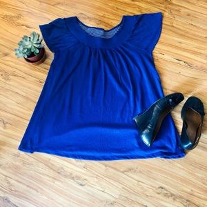Tops - ELECTRIC blue Tee